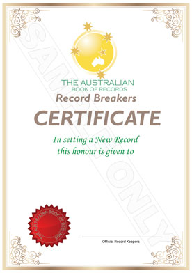 Purchase A Certificate